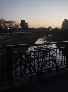 2015年元旦21 空堀川 自転車-s.JPG